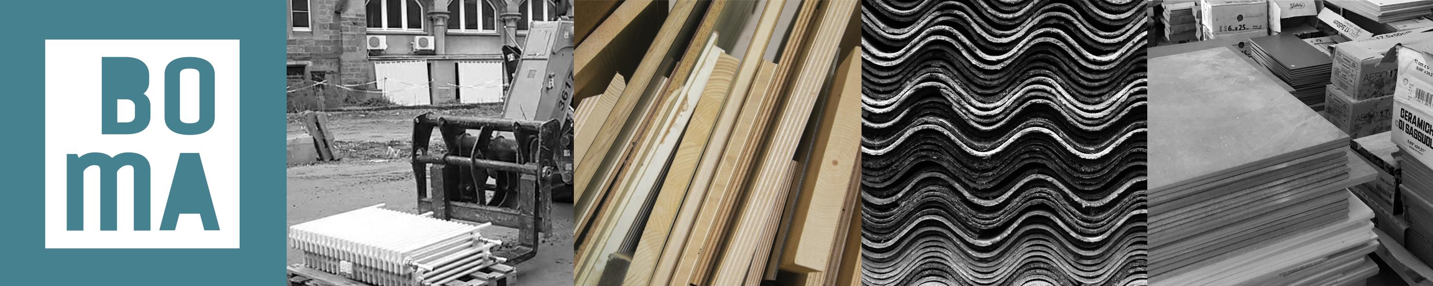 BOMA les bonnes matières collecte matériaux bâtiment réemploi